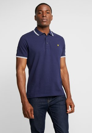 TIPPED - Poloshirt - blue