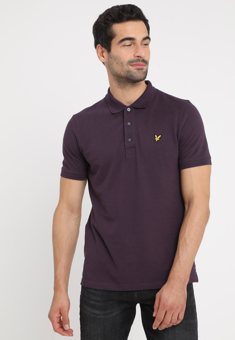 Lyle & Scott - Polo shirt - deep plum