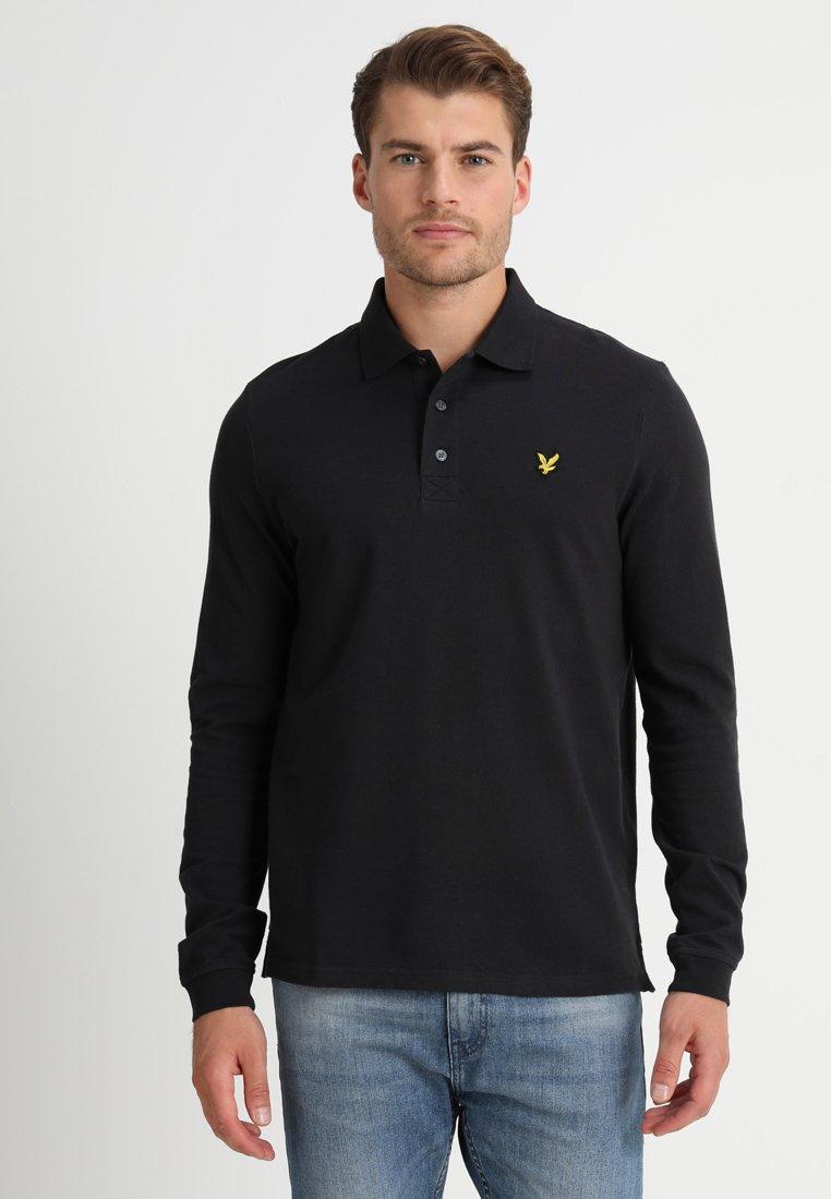 Lyle & Scott - PLAIN  - Polo shirt - true black