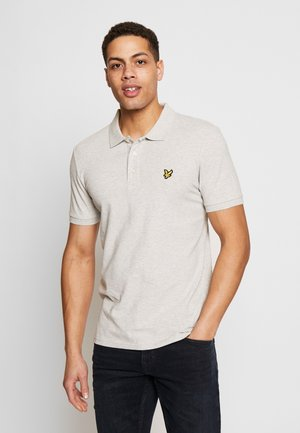 SLIM FIT - Poloshirt - light grey