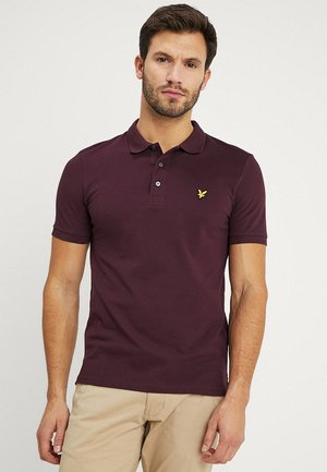 SLIM FIT - Pikeepaita - burgundy