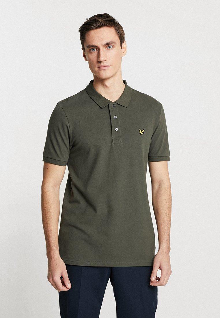 Lyle & Scott - SLIM FIT - Poloshirts - dark sage