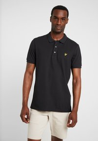 Lyle & Scott - SLIM FIT - Poloshirts - true black - 0