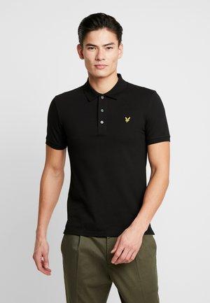 SLIM FIT - Poloshirt - jet black