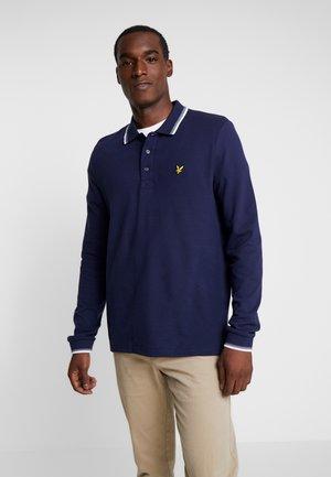 TIPPED - Poloshirt - navy/white