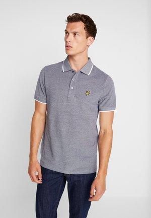 OXFORD TIPPED - Poloshirt - light silver
