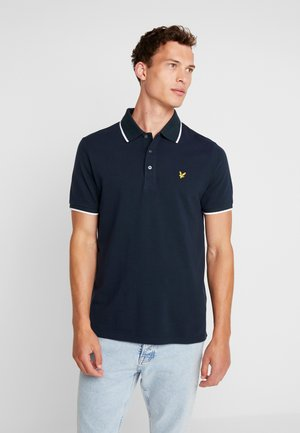 OXFORD TIPPED - Poloshirt - navy