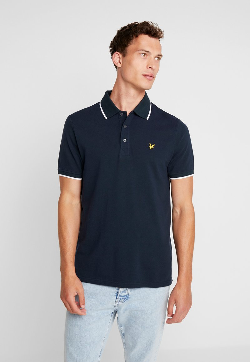 Lyle & Scott - OXFORD TIPPED - Polo shirt - navy