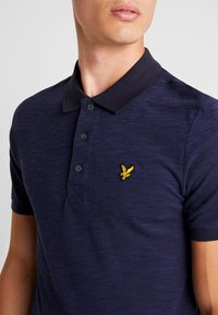 Lyle & Scott - SPACE DYE - Piké - navy - 4