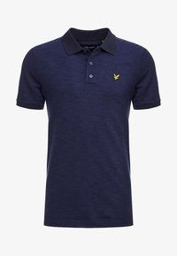 Lyle & Scott - SPACE DYE - Piké - navy - 3