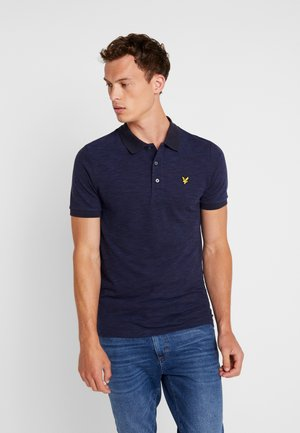 SPACE DYE - Poloshirt - navy