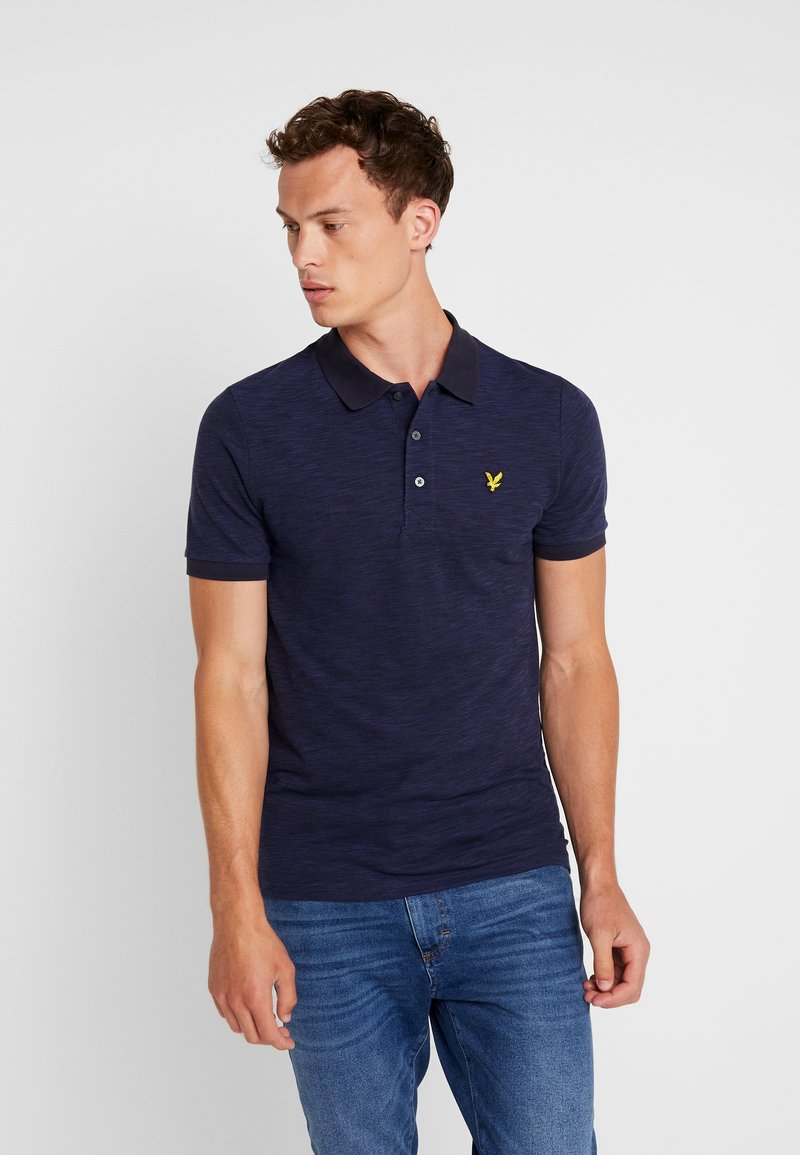Lyle & Scott - SPACE DYE - Poloshirt - navy