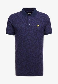 Lyle & Scott - GEO - Piké - navy - 3