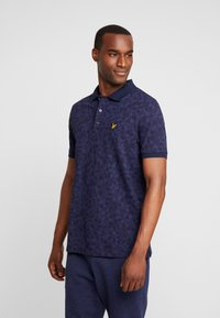 Lyle & Scott - GEO - Piké - navy - 0