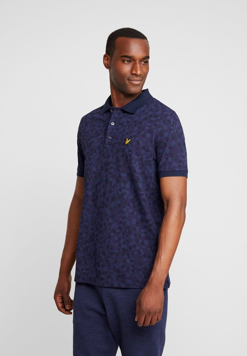 Lyle & Scott - GEO - Piké - navy