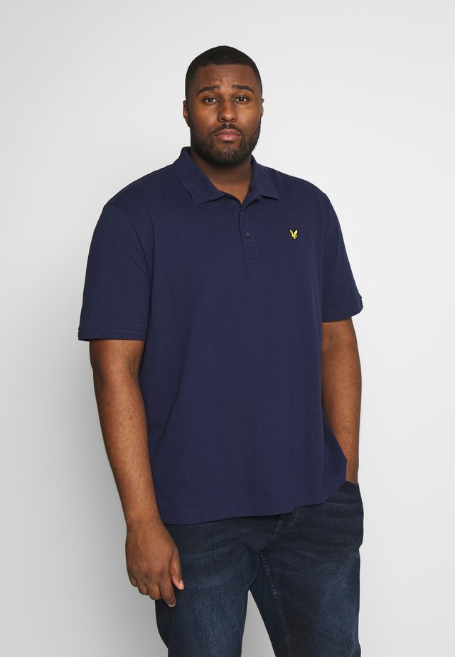 PLUS PLAIN - Pikeepaita - navy