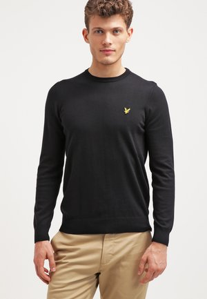 CREW NECK JUMPER - Sweter - true black