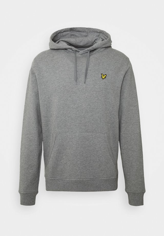HOODIE - Jersey con capucha - mid grey marl