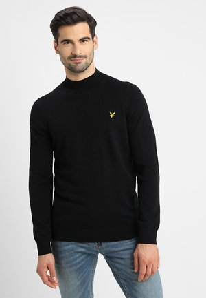 NECK JUMPER - Sweter - true black