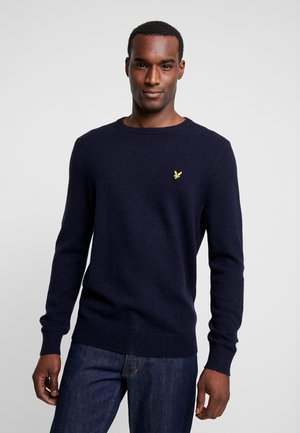 CREW NECK JUMPER - Sweter - dark navy