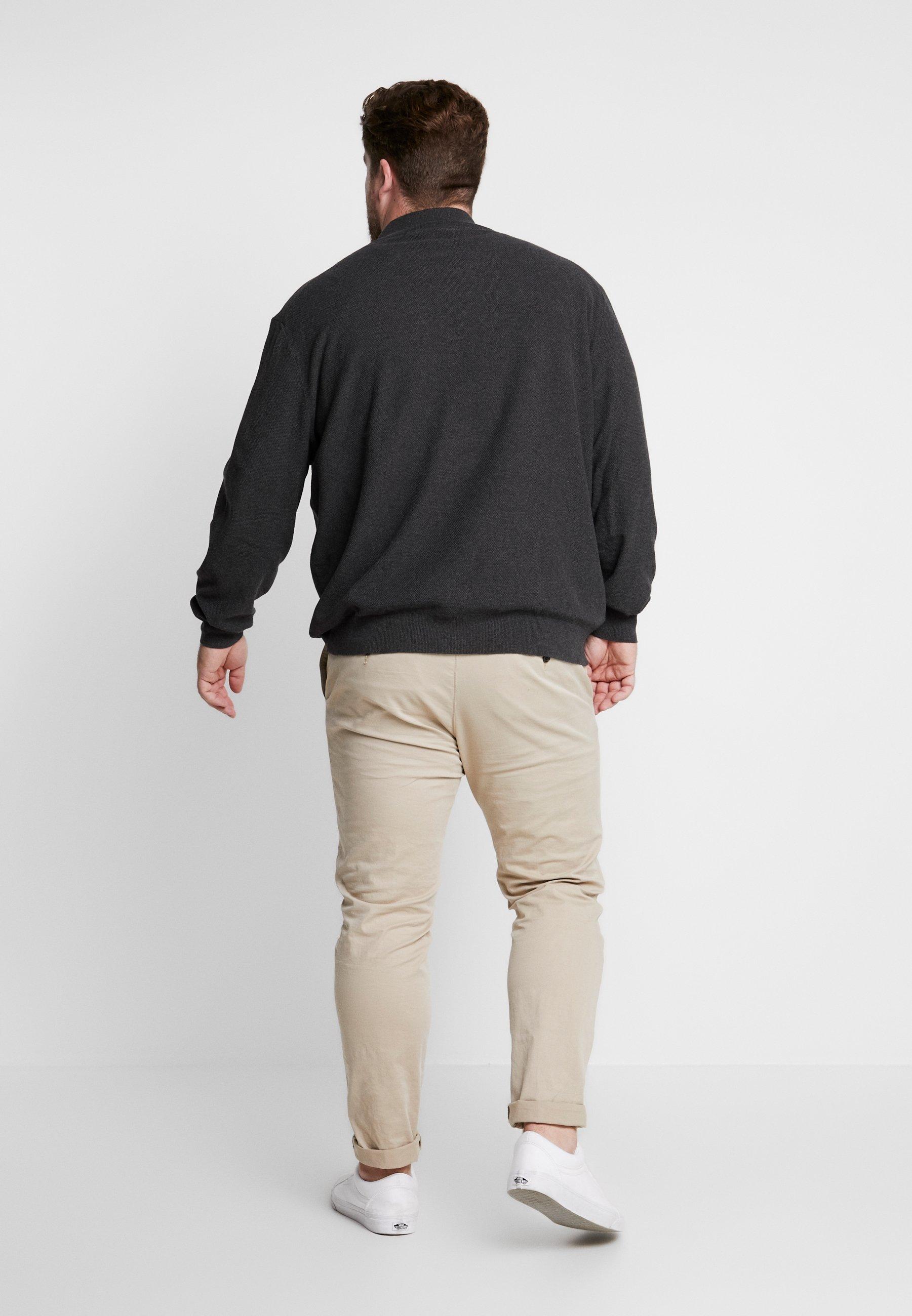 Scott Plus Stitch Moss Charcoal Zip Marl Lyleamp; JumperPullover rBQdeExoWC