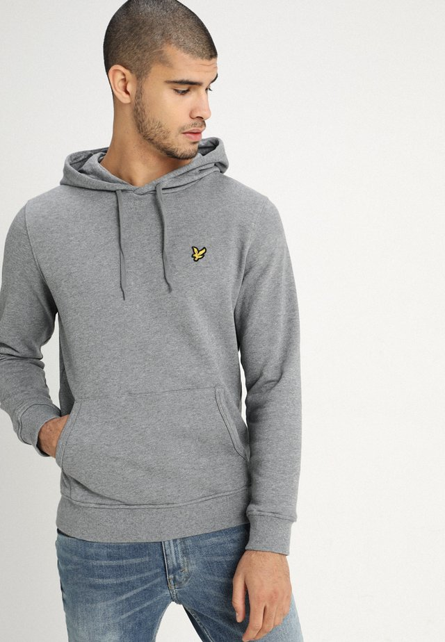 Sweat à capuche - mid grey marl