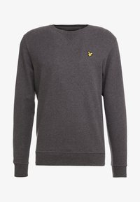 Lyle & Scott - CREW NECK - Sweater - charcoal marl - 3