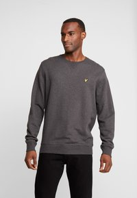 Lyle & Scott - CREW NECK - Sweater - charcoal marl - 0