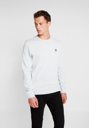 CREW NECK - Sweatshirt - light silver