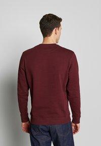 Lyle & Scott - CREW NECK - Sweater - merlot - 2