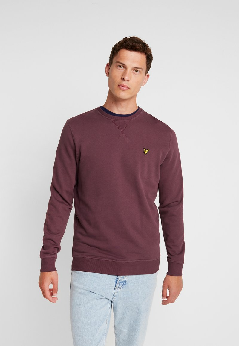 Lyle & Scott - CREW NECK - Sweatshirt - berry