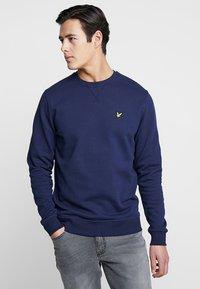 Lyle & Scott - CREW NECK - Sweater - navy - 0