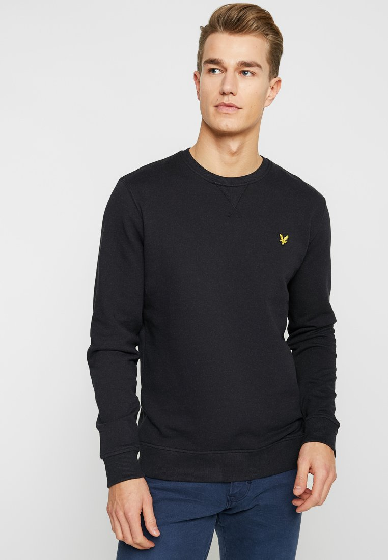 Lyle & Scott - CREW NECK - Sweatshirt - true black