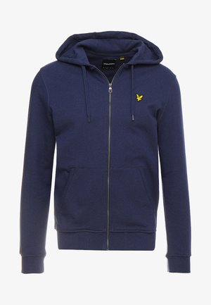 ZIP THROUGH HOODIE - Collegetakki - navy