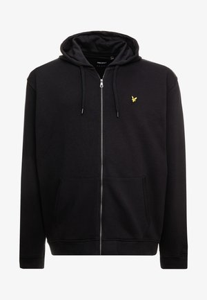 ZIP THROUGH HOODIE - Mikina na zip - true black