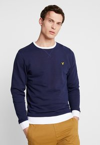 Lyle & Scott - CONTRAST - Sweater - navy - 0