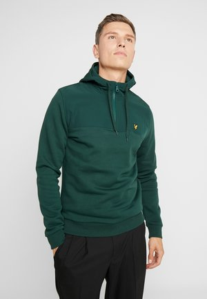 ZIP HOODIE - Bluza z kapturem - jade green