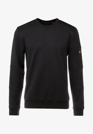 POCKET CREW NECK - T-shirt à manches longues - true black