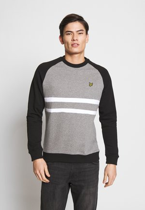 Sweater - mid grey