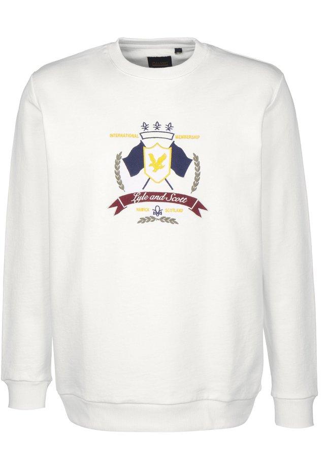 CREST - Sweater - white