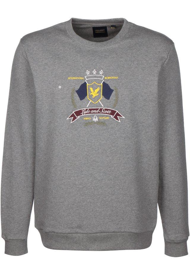 CREST - Sweater - mid grey marl
