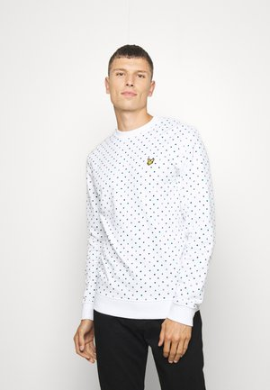 PRINTED - Sweatshirt - white