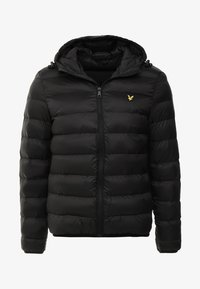Lyle & Scott - LIGHTWEIGHT PUFFER - Giacca da mezza stagione - true black - 5