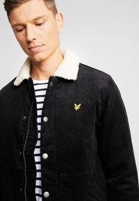 Lyle & Scott - JUMBO  - Light jacket - true black - 4
