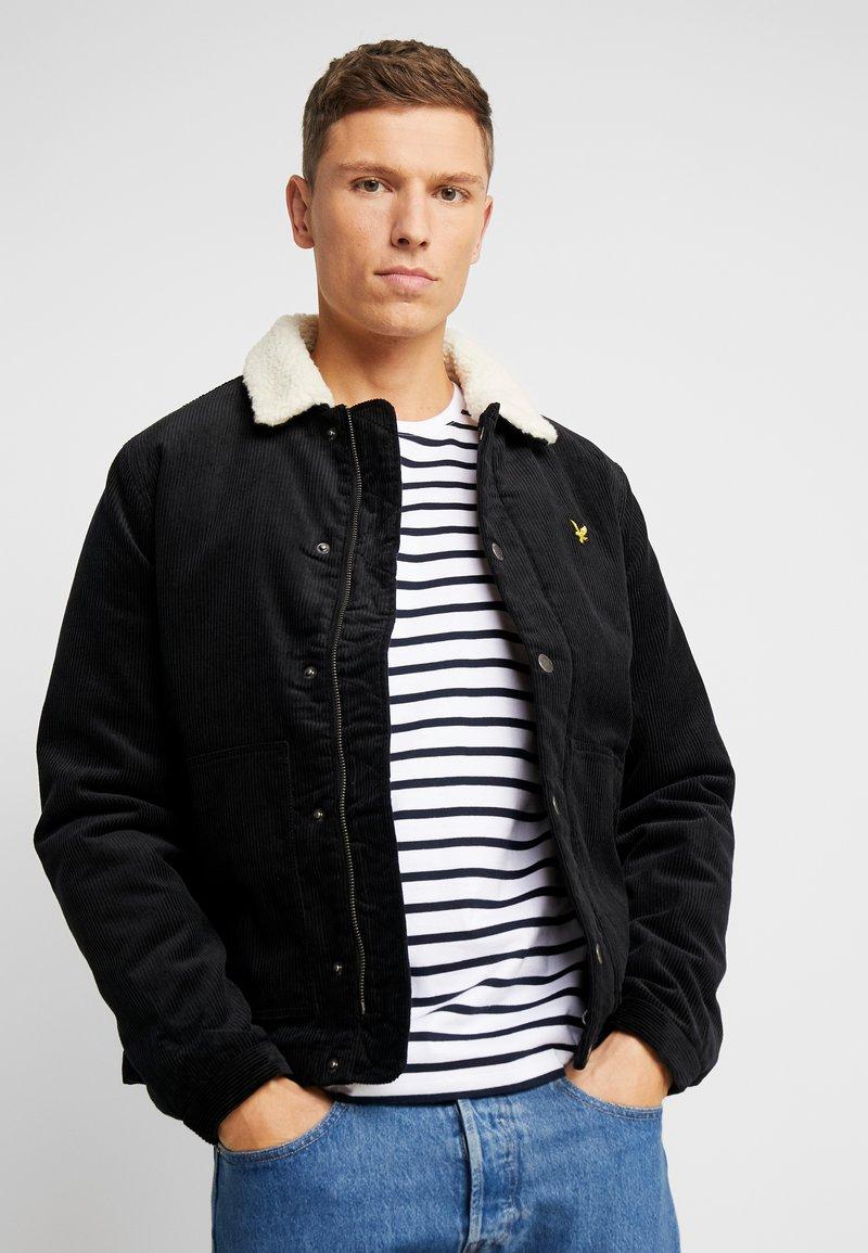 Lyle & Scott - JUMBO  - Light jacket - true black