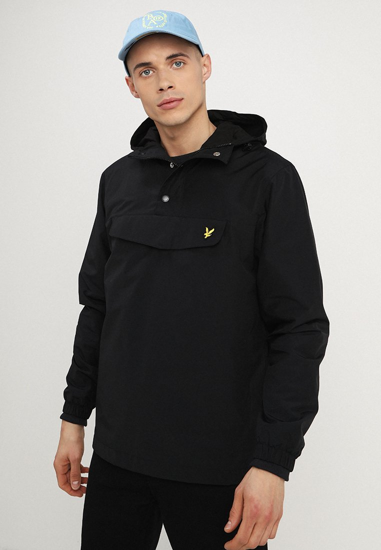Lyle & Scott - OVERHEAD - Windbreaker - true black