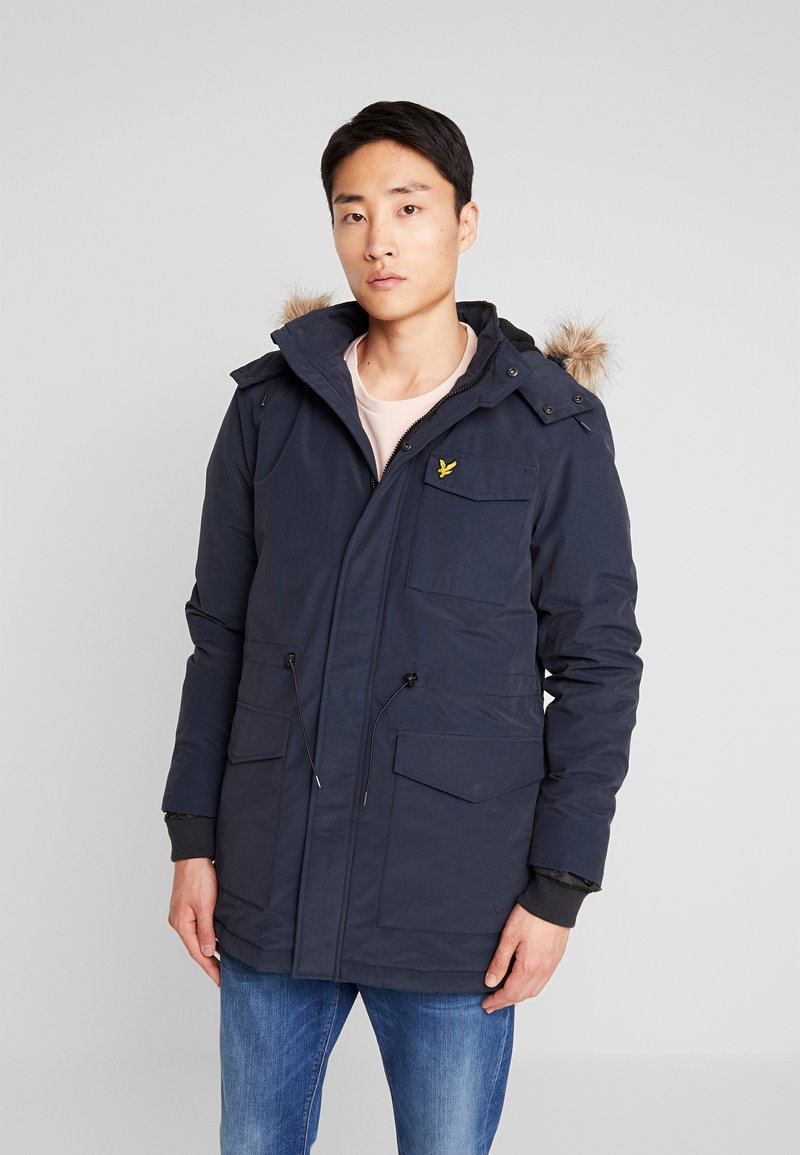 Lyle & Scott - Wintermantel - dark navy