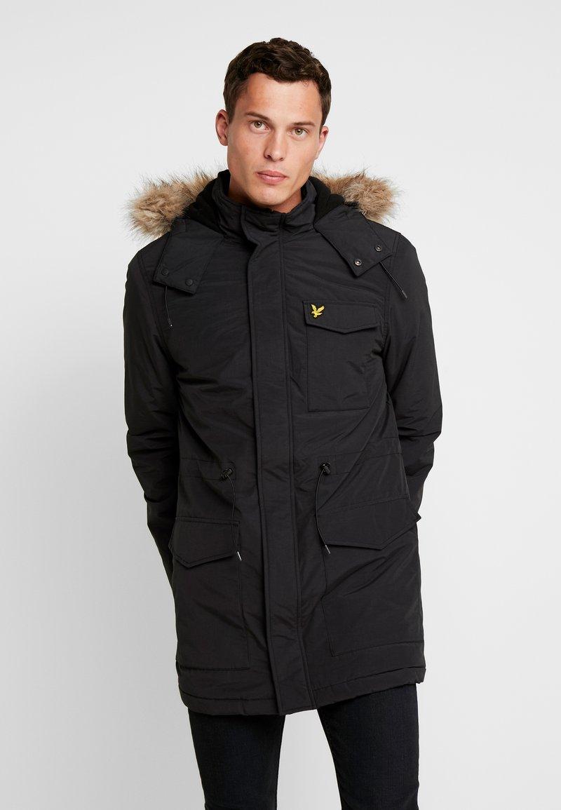 Lyle & Scott - Winter coat - true black
