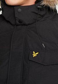 Lyle & Scott - Winter coat - true black - 5