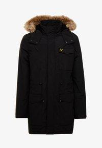 Lyle & Scott - Winter coat - true black - 4